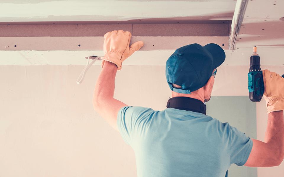 Forro Drywall Montagem