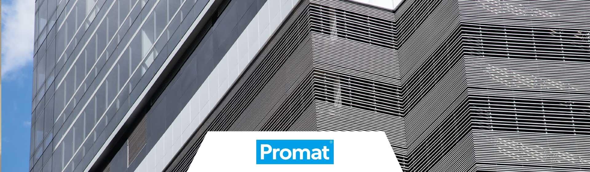 Banner pagina Promat